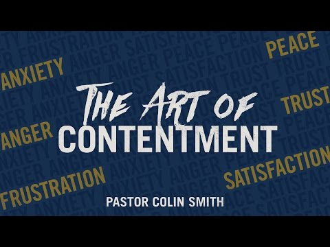"Sermon: ""Learning to Be Content"""