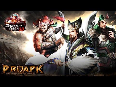 Dynasty Saga 3D - Three Kingdoms Gameplay Android / iOS