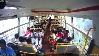 School bus accident live video