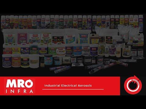 Video: B). Electrical Maintenance Industrial Aerosol | MRO INFRA LLP
