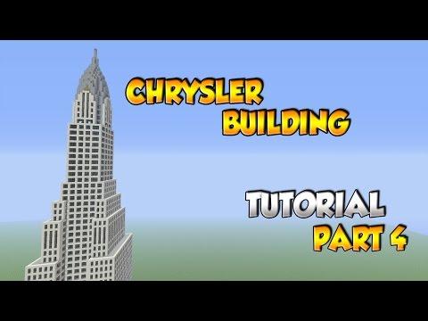 Minecraft Chrysler Building Tutorial Part 4