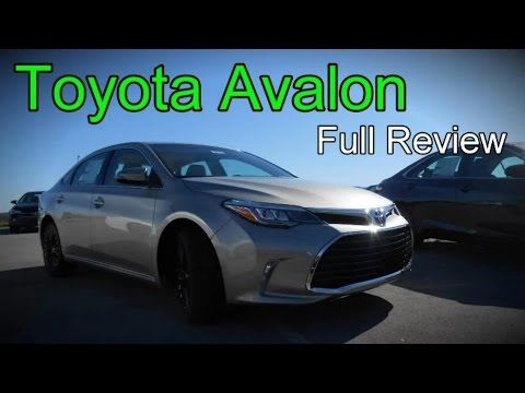 2016 Toyota Avalon: Full Review | XLE, Plus, Premium, Touring, Limited & Hybrid