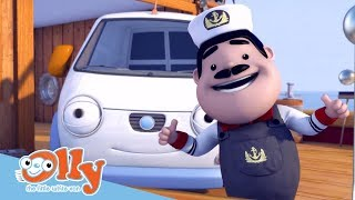 Cars for Kids - Sailing With Stan | Transport for Kids | Olly the Little White Van
