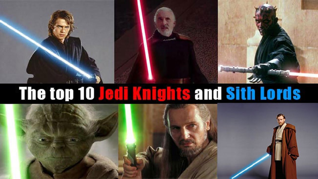 Star wars top 10 powerful characters in star wars jedi amp sith