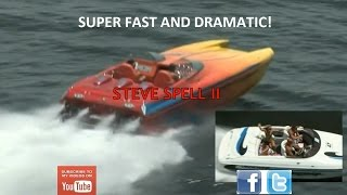 Super Fast Powerboat Helicopter Chase (Power Boat)