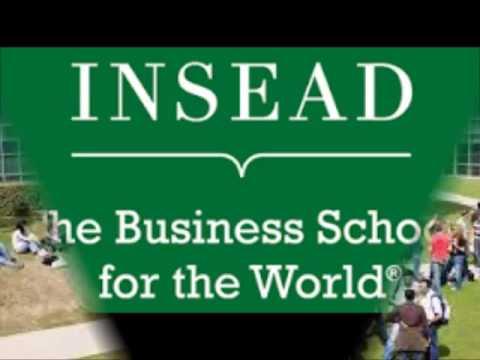 INSEAD business school  FRANCE