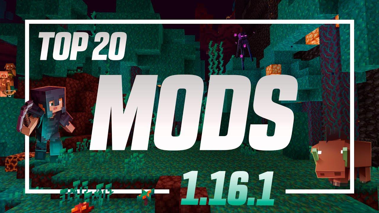 Top 20 Mods Para Minecraft 1 16 1 Youtube