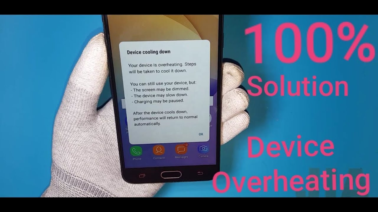 Samsung On Next & j7 Prime Device Overheating Solution