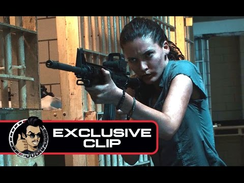 DAYLIGHT'S END Exclusive Movie Clip - Jail Attack (2016) Lance Henriksen Horror Movie HD