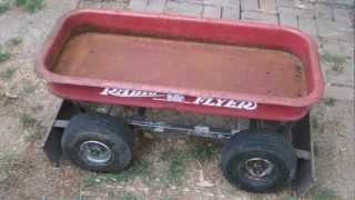 Radio Flyer Wagon Go Kart