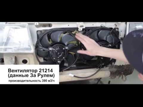 Авторемонты #03 (перезалито). Установка и подключение вентилятора охлаждения от Нивы на Ваз 2108