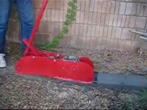 Curb Machine Making Cement Concrete Landscape Edging Borders