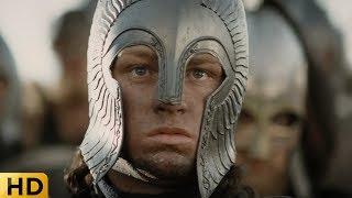 Арагорн мотивирует свое войско перед финальной битвой. Властелин колец: Возвращение короля.