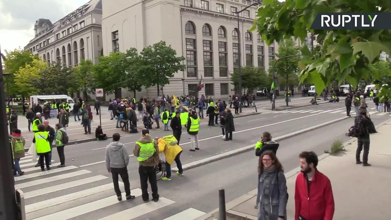 «Желтые жилеты» продолжают разжигать огонь новой французской революции