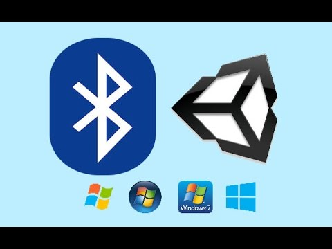 Bluetooth Terminal in Unity3D for Windows Standalone devices
