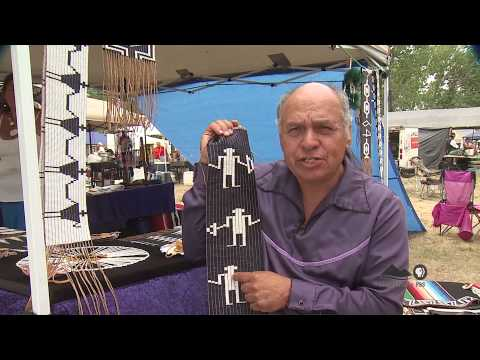 Native American Creates Rare Wampum Bead Pieces