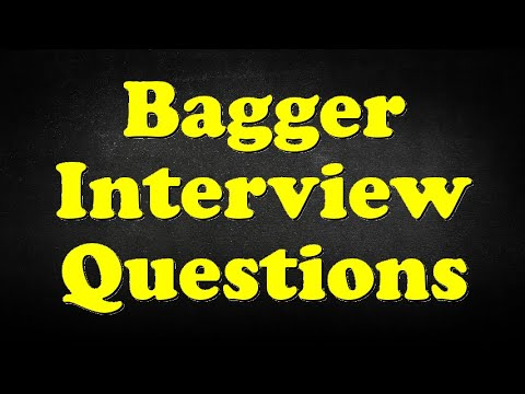Bagger Interview Questions - YouTube