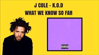 "J.COLE'S NEW ALBUM ""K.O.D"" - WHAT WE KNOW SO FAR"