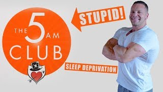 Why the 5am Club is Tired and Stupid