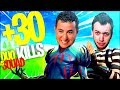 ON VISE LES 30KILLS EN DUO VS SQUAD ! (ft. Mickalow) ► FORTNITE