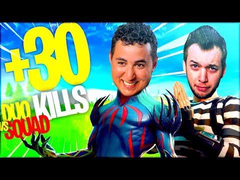 ON VISE LES 30KILLS EN DUO VS SQUAD ! (ft. Mickalow) ► FORTNITE