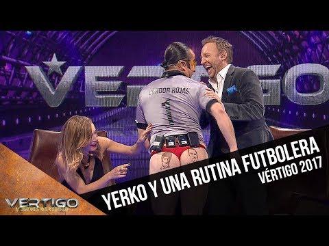La rutina futbolera de Yerko   Vértigo 2017