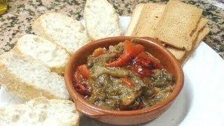 Roasted Pepper And Aubergine Salad/ensalada De Pimientos Y Berenjena