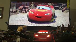 Cars 3 Toys - Sphero Ultimate Lightning McQueen WATCHING Disney Pixar Cars Movie DOES HE EVEN TALK?