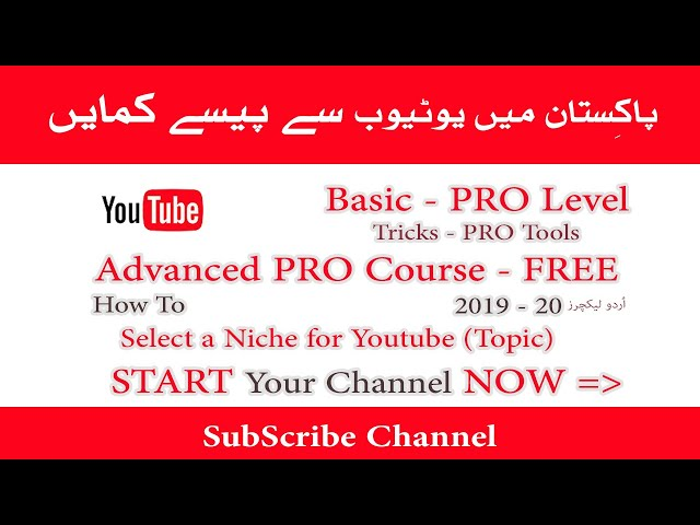 How to Select Niche for Youtube | Topic 2019-20