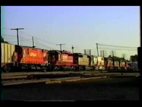 CP RAIL trains in Michigan PART TWO. Includes bran...