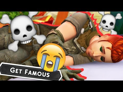 Quincy is DEAD // Get Famous Ep. 13 // The Sims 4 Let's Play |