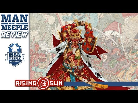 Rising Sun (CMON) Review by Man Vs Meeple