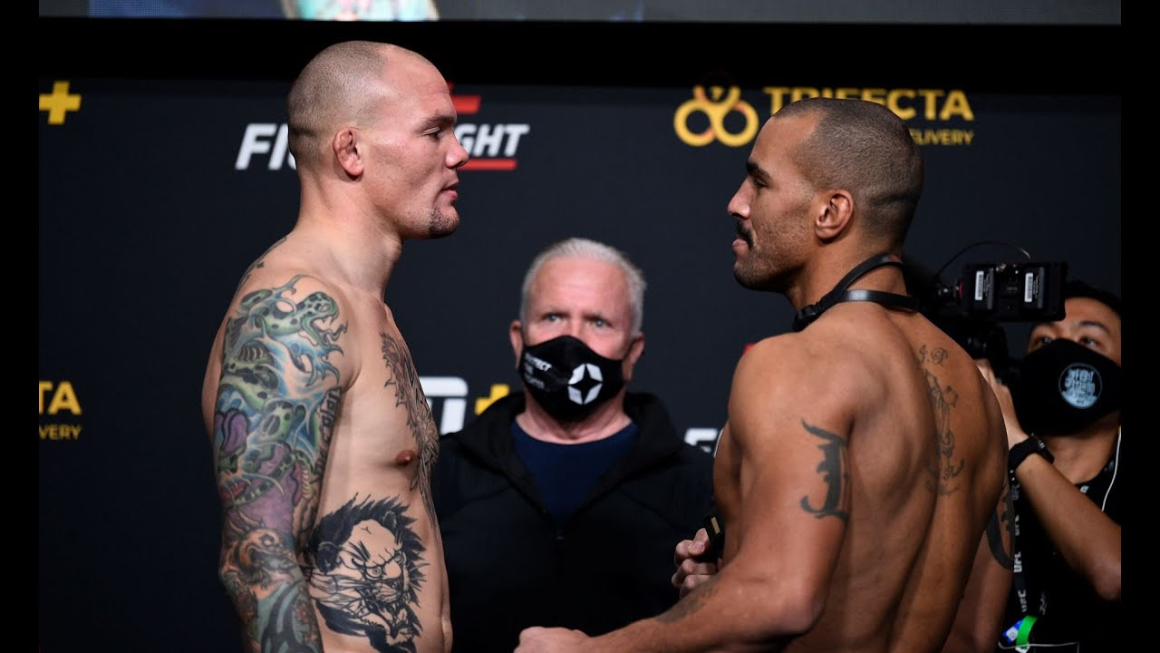 UFC Vegas 15: Weigh-in Faceoffs