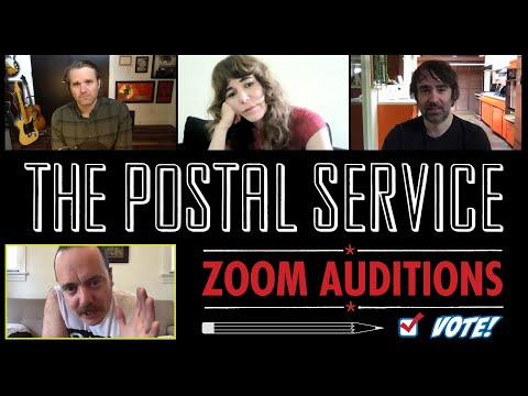The Postal Service Zoom Auditions
