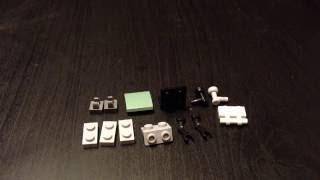 Лего самоделки протез для минифигурки