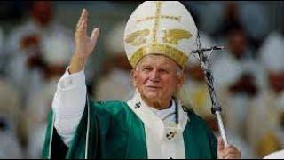 Homenagem ao dia do Papa João Paulo ll