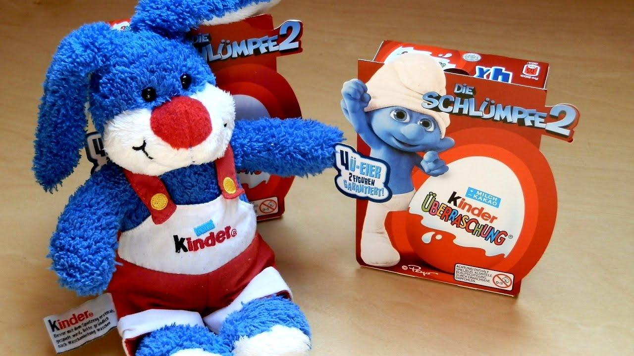 kinder surprise the smurfs