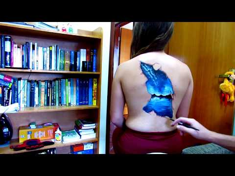 🎨 How to paint skin 3D NATURAL BEAUTIES optical illusion 🎨