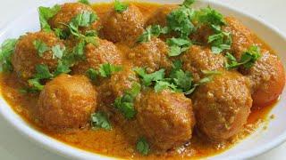 Malai khofta/Malai khofta soft, spongy easy recipe in hindi/How to make Malai khofta soft and spongy