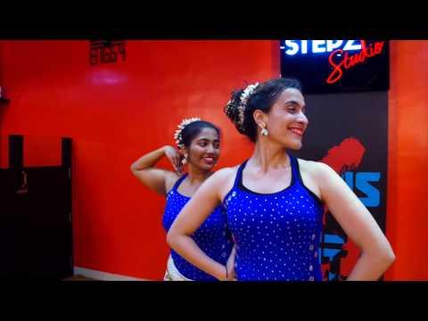 Tareefan Reprised | Aziza & Kimberley | Bharatnatyam Belly Fusion | DanceAtStepz