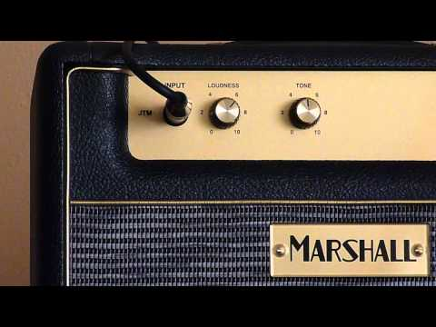 Marshall JTM1C Loudness Test (0.1W mode)