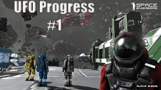 Space Engineers - Ufo progress #1