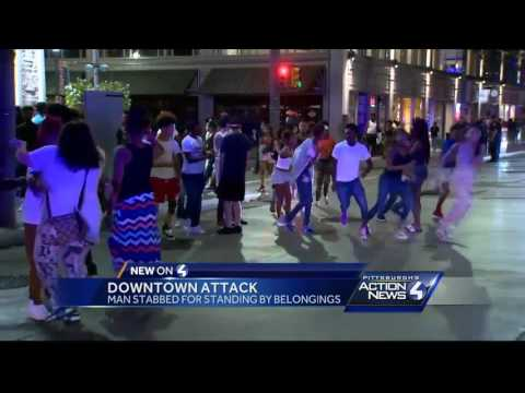 Stabbing in downtown Pittsburgh