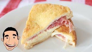 ITALIAN GRILLED CHEESE SANDWICH RECIPE | Mozzarella in Carrozza | Fried Cheese Sandwich