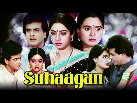 Suhaagan Full Movie   Sridevi Hindi Movie   Jeetendra   Padmini Kolhapure   Bollywood Movie