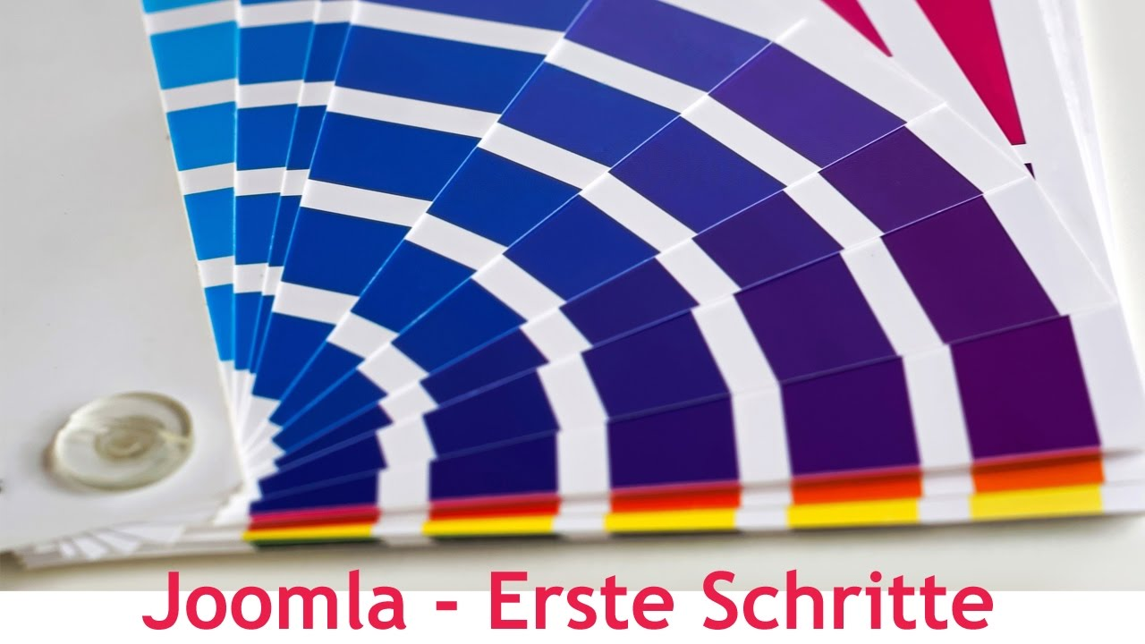 Joomla (CMS) - Erste Schritte - Templates, Module und Beiträge ...