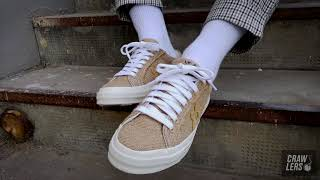 Crawlers Unboxing | Converse One Star x Tyler The Creator Golf Le Fleur