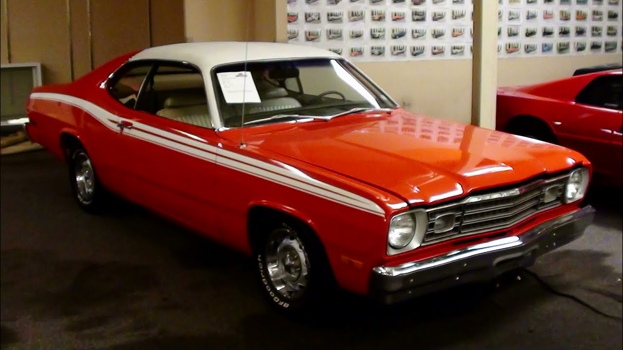 What Is Mopar >> 1974 Plymouth Duster - Nicely Restored Mopar - YouTube