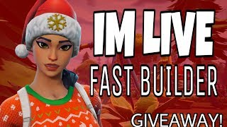 PRO FORTNITE PLAYER! GIVEAWAY !