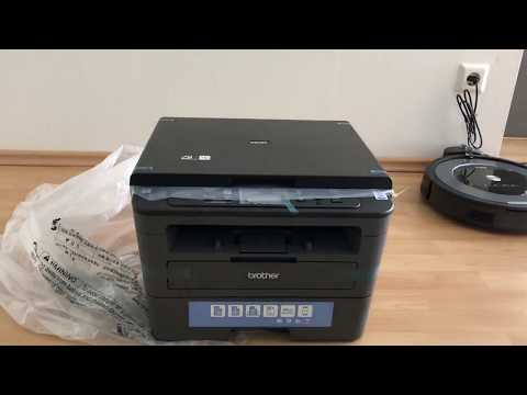 Brother DCP-L2530DW - Unboxing